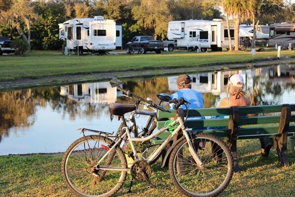 Ramblers Rest Rv Campground Venice Fl